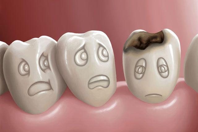 Skutki chorób zębów